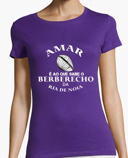 Camiseta AMAR é ao que sabe o berberecho da ría de Noia