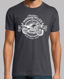 Camiseta American motorcycles 1987