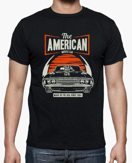 Camiseta American Muscle Car