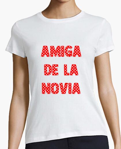 Camiseta amiga de la novia, despedida de soltera flamenca