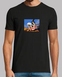 camiseta amiga halloween pixel art