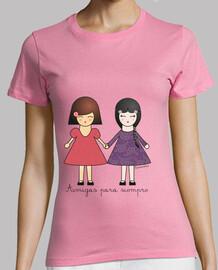 Camiseta Amigas para siempre
