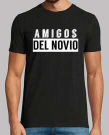 Camiseta amigos del novio, despedida de soltero