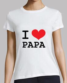 camiseta amo al papá