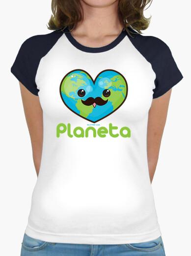 Camiseta Amo al Planeta