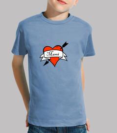Camiseta Amor de madre niño/a