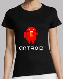 Camiseta Android versión