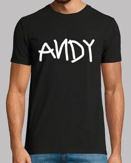 Camiseta Andy (negra)