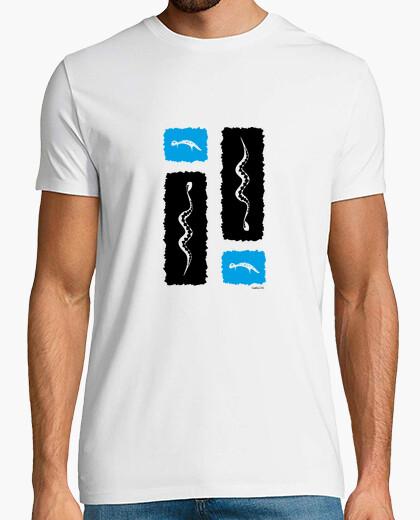 Camiseta Anfibios (para fondo claro)