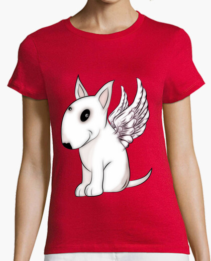 Camiseta Angelito bull terrier