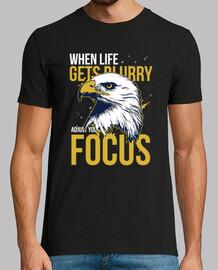 Camiseta Animales Águila con Mensaje Positivo