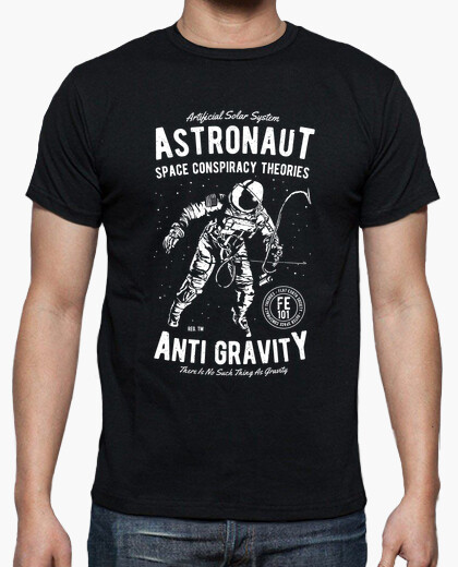 Camiseta Anti Gravity  - ARTMISETAS ART CAMISETAS