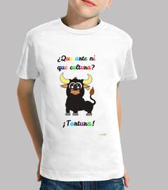 Camiseta antitaurina para niños