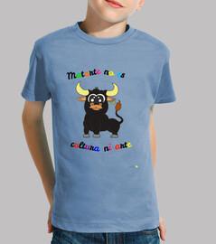 Camiseta Antitaurina para niños modelo 2