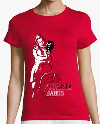 Camiseta Aparta Babós 2010 - Entallada, tirantes, roja