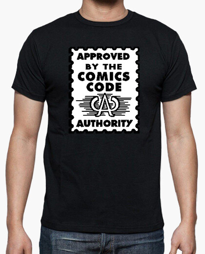 Camiseta Approved by the comic code