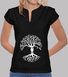 camiseta árbol de la vida árbol de la vida zen