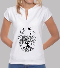 camiseta árbol de la vida árbol vida sabiduría armonía fc
