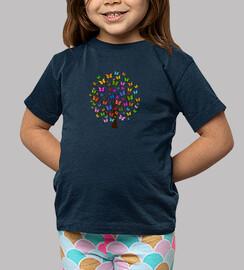 Camiseta Arbol de mariposas