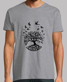 camiseta árbol vida hombre sabiduría armonía fc