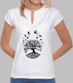 camiseta árbol vida mujer mao sabiduría armonía fc