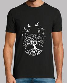 camiseta árbol vida sabiduría armonía f