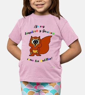 Camiseta Ardilla