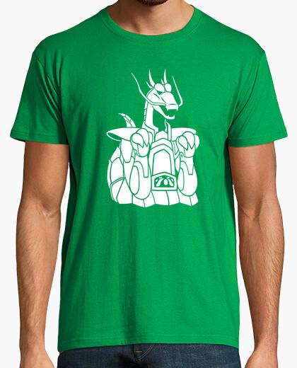 Camiseta Armadura del Dragón- Caballeros del zodiaco