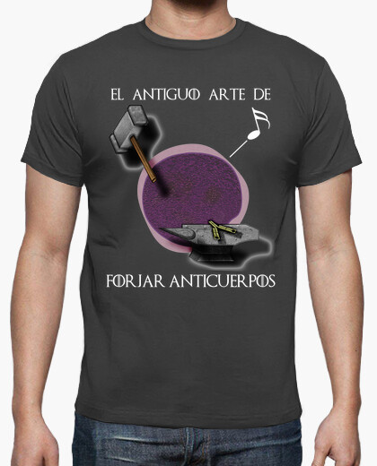 Camiseta Arte forjar castellano oscuro HMC