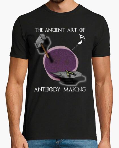 Camiseta Arte forjar inglés oscuro HMC