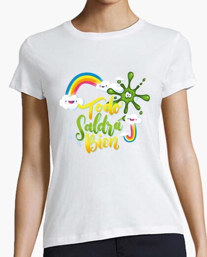 Camiseta Arty - Todo Saldrá Bien - Blanco