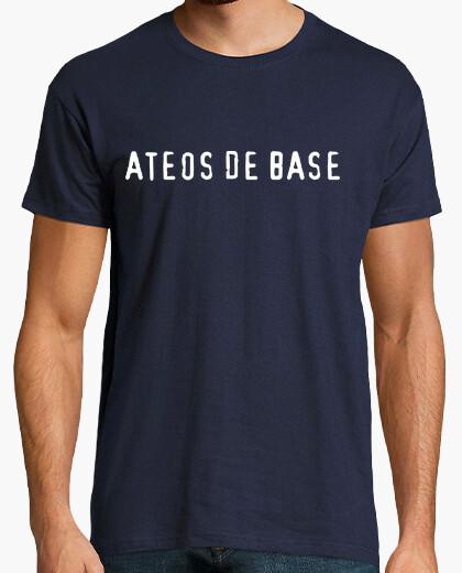 Camiseta Ateos de Base Visita del Papa humor geek Freak cine TV musica