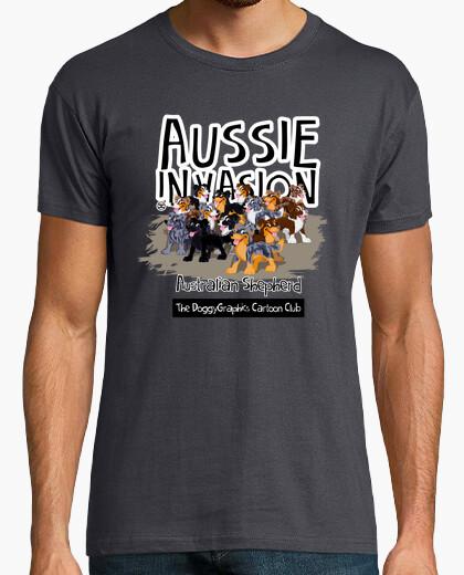 Camiseta Aussie CartoonClub Invasion