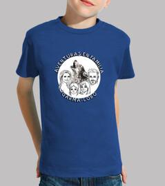Camiseta Aventura en Familia Garma Lobo