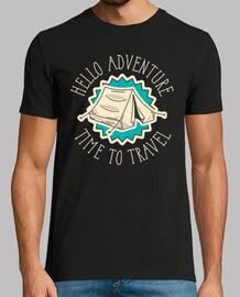 Camiseta Aventuras Acampada Camping