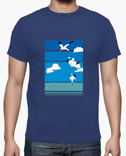 Camiseta Aves (color)