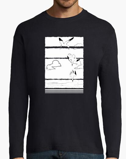 Camiseta Aves (para fondo escuro)