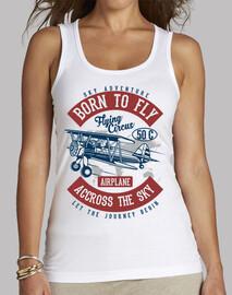 Camiseta Avión Retro Vintage