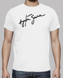 Camiseta: Ayrton Senna: Being second is to be the first of the ones who lose
