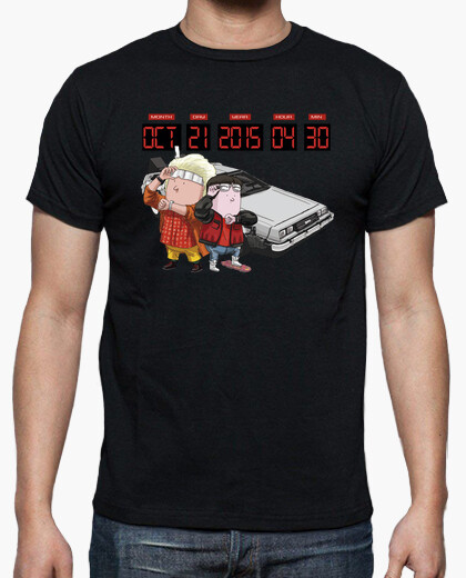 Camiseta Back to the Future by Calvichi's