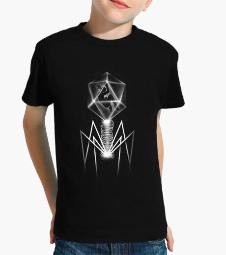 Ropa infantil camiseta bacteriófago