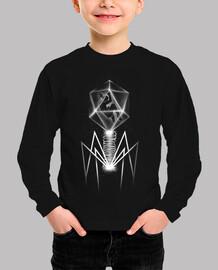 camiseta bacteriófago
