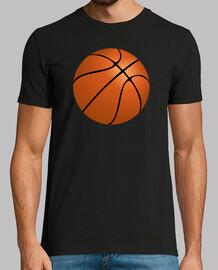 Camiseta Balón de Baloncesto negra