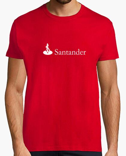 Camiseta Banco Santander (horizontal)