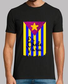 Camiseta Bandera Chelevariana Oficial Negra