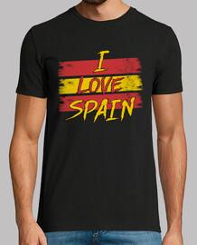 Camiseta Bandera España I LOVE SPAIN