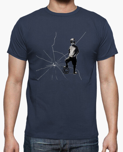 Camiseta Banksy Copyright