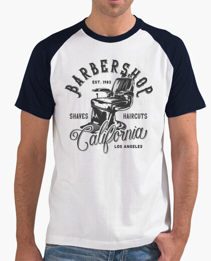 Camiseta Barbershop California 2