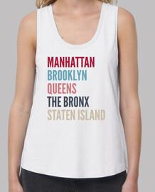 Camiseta Barrios de Nueva York (tirantes)