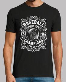 Camiseta Baseball 1962 Deportes Americana